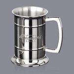 Guild Beer Tankard - 18oz S/Steel Polished