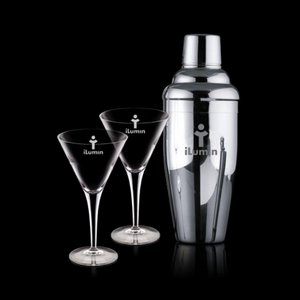 Connoisseur Shaker and 2 Belfast Martini
