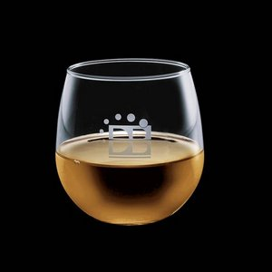 Ossington 16oz Stemless Wine Glasses Engraved Glasses