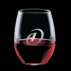 Stanford Stemless Wine Glasses Engraved Glasses - 21oz