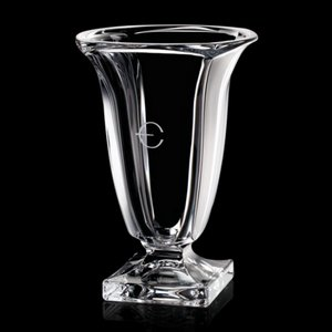 Galina Vase - 13 in. Crystalline