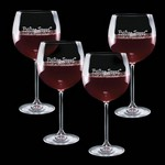 Woodbridge 19oz Burgundy (Set of 4)
