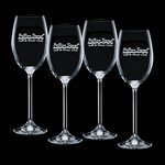 Woodbridge 12oz Wine Glasses Engraved (Set of 4)