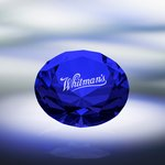 Diamond Paperweight / Blue
