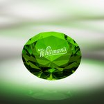 Diamond Paperweight / Green