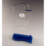Blue Wave Optical Crystal Award