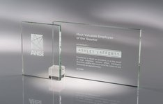 Shadow Glass Award Clear LG