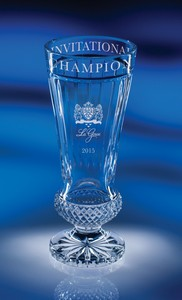 Aristides Cup Full Lead Crystal Award- LG