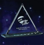 Optic Crystal Pyramid Award (small)