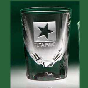 2oz. Fluted Shot Glass