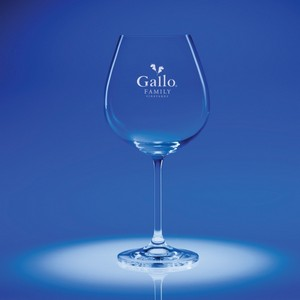 Options Balloon Engraved Wine Glass