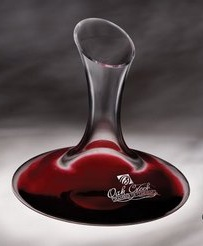 Renata Engraved Wine Decanter 43 Oz.