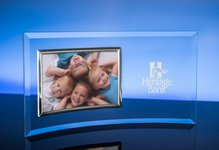 3.5? X 5? Horizontal Picture Frame / Silver