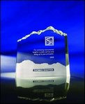 Optic Crystal Mountain Award (small)