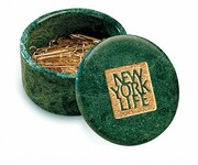 Cache Box Green Marble