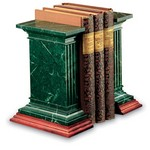 Bristol Green Marble Bookends