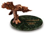 Award Victory Eagle Green Marble Award