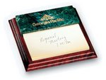 Oxford Memoholder Green Marble Award 