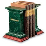 Bristol Bookends Green Marble Award 