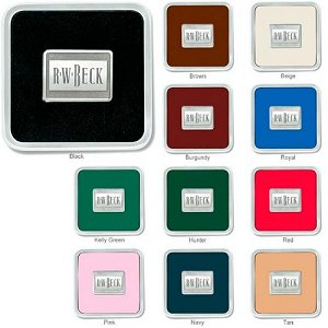 Zinc Square Coaster Weight Coasters