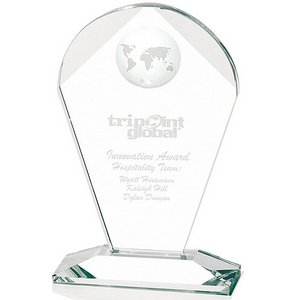 Geodesic Optical Crystal Award - Medium