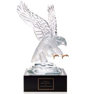 Eagle Award with 4 inch Lighted Pedestal