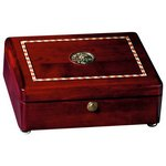Rosewood Inlaid Rectangular Box