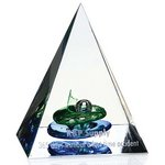 Pyramid of Success Art Glass Award