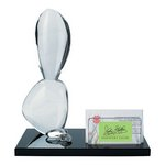 Balancing Stones Award Business Card Holder