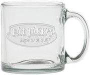 13 oz. Deep Etch Clear Crystal Coffee