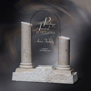 Athens Jade Glass and Stone Marble Award