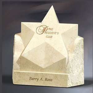 Rising Star - White Agate Marble Award