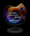 Trilogy Prime Art Glass Corporate Award