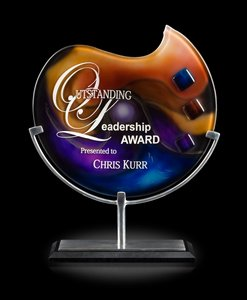 Delphi Andromeda Art Glass Corporate Award