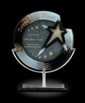 Galactic Art Glass Corporate Award