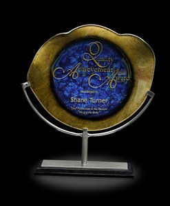 Titan Achievement Art Glass Achievment Award