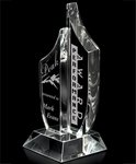 Paragon Optical Crystal Freestanding Award