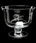 Adagio Bowl - Non Leaded, Hand Blown European Crystal Bowl