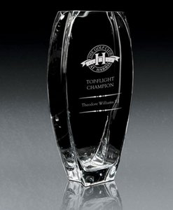 Troppo Vase -Non Leaded, European Crystal Vase