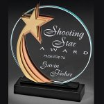 Star Medalist Glass Award